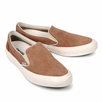 Slip-On Suede Loafers // Brown (US: 7)