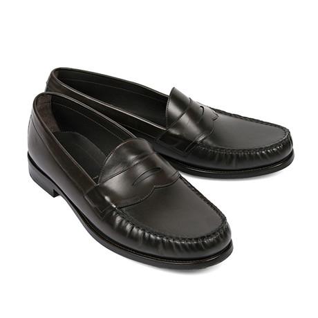 Norfolk Slip-On Leather Loafers // Sage (US: 6)