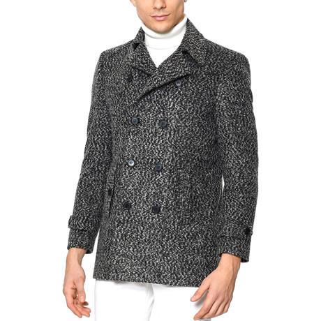PLT8329 Overcoat // Patterned Grey (L)