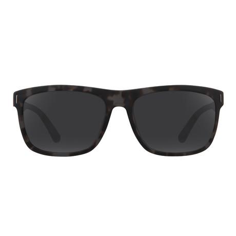 Calvin Klein // Classic Sunglasses // Black Tortoise + Dark Gray