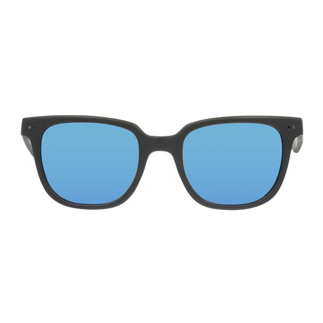 Gant // Classic Sunglasses // Matte Black + Blue Mirror