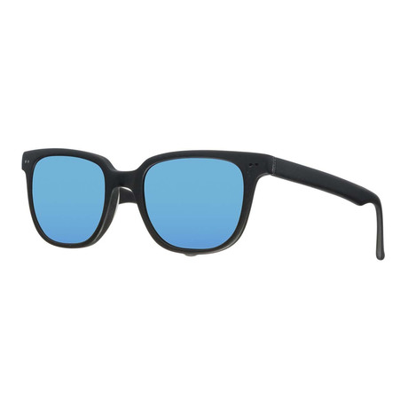 Gant Sun // Classic Sunglasses // Matte Black + Blue Mirror