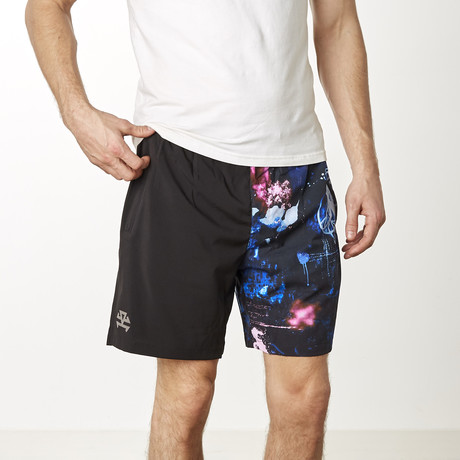 UltraLight Training Shorts // Galaxy (XS)