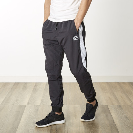 Waterproof Track Pants // Black (XS)