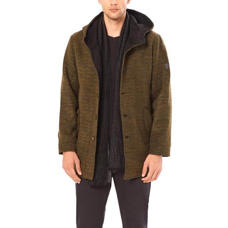 Fitz Duffle Coat // Khaki (S)