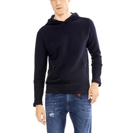 Elvis Sweatshirt // Navy Blue (S)