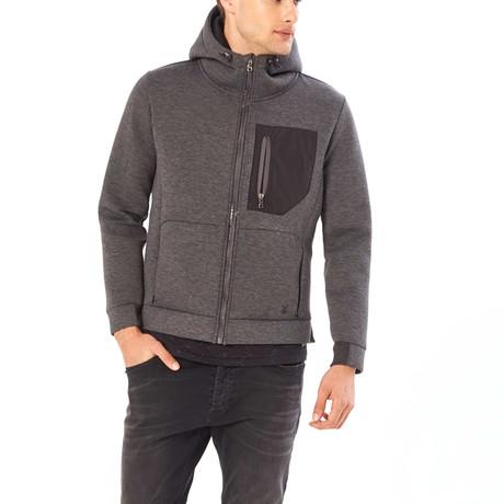 Holden Sweater Jacket // Antra Melange (S)
