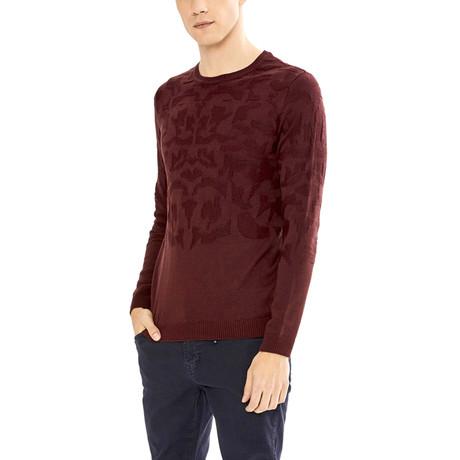 Jameson Sweater // Burgundy (S)