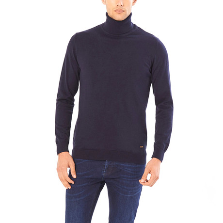 August Sweater // Navy Blue (S)