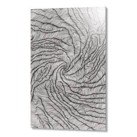 """Swirlpool // Aluminum (16""""W x 1.5""""H x 24""""D)"""