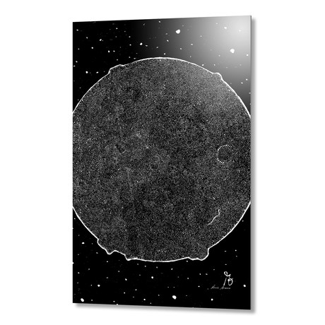 "Lone Rock // Aluminum (16""W x 1.5""H x 24""D)"