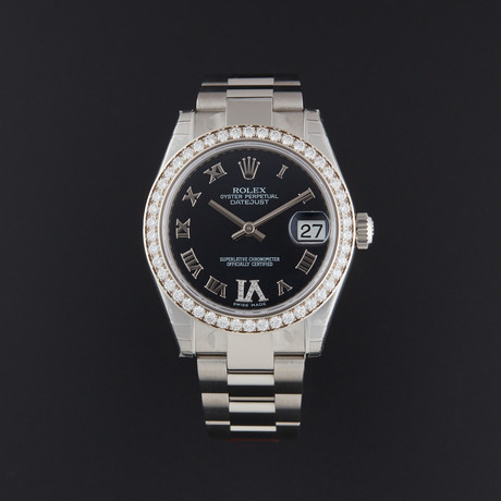 Rolex Datejust 31 Automatic // 178384 // Random Serial // Store Display
