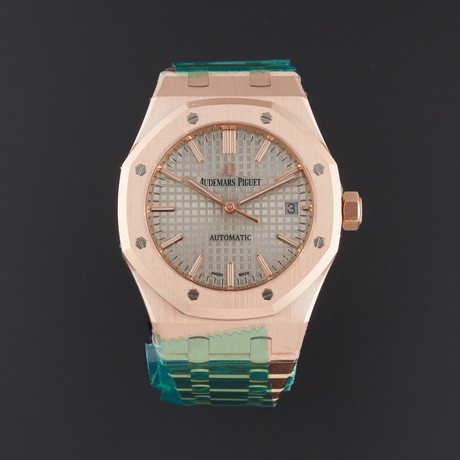 Audemars Piguet Royal Oak Automatic // 15450OR.OO.1256OR.01 // Store Display