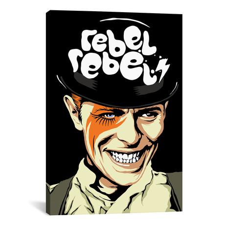 "Rebel Rebel (26""W x 18""H x 0.75""D)"