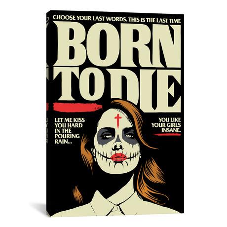 "Born (26""W x 18""H x 0.75""D)"