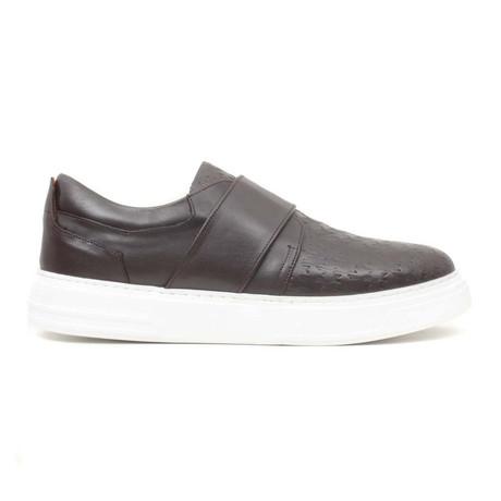 Kahve Antik Strap Sneaker // Brown (Euro: 40)