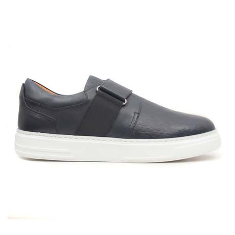 Laci Antik Strap Sneaker // Navy Blue (Euro: 40)