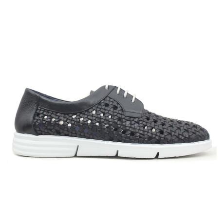 Lacivert Woven Sneaker // Navy Blue (Euro: 40)