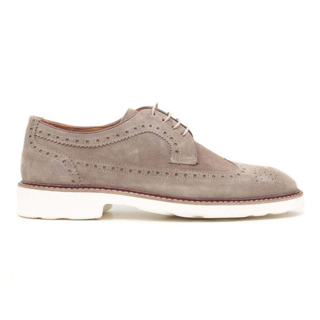 Suggero Suet Wingtip // Light Brown (Euro: 40)
