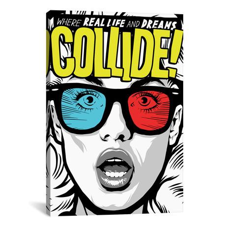"Collide (26""W x 18""H x 0.75""D)"