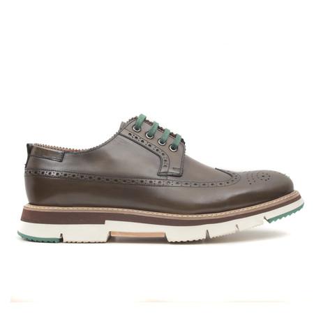 Yesil Scala Wingtip Sneaker // Green (Euro: 40)