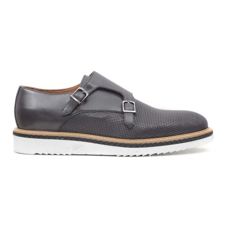 Gri Scala Double Monkstrap // Grey (Euro: 40)
