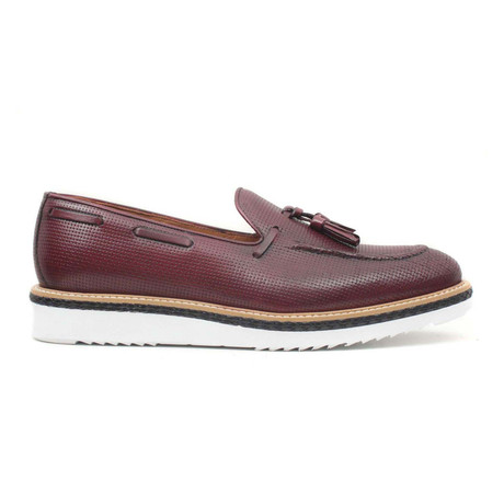 Bordo Scala Loafer // Claret Red (Euro: 40)