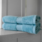 Alfred Sung Hotel Collection // Bath Towel // Set of 2 (Graphite)