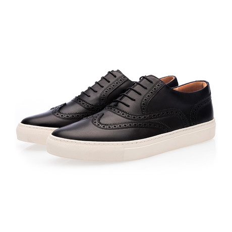 Castor Nappa Low Top // Black (Euro: 39)
