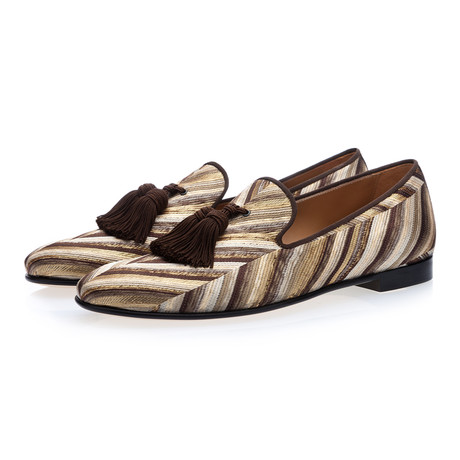 Louis Setentas Slippers // Cocoa (Euro: 39)