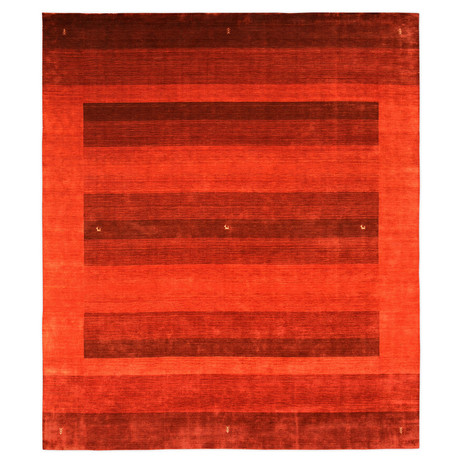 Loom Collection // Vibrant Geometric Wool Rug