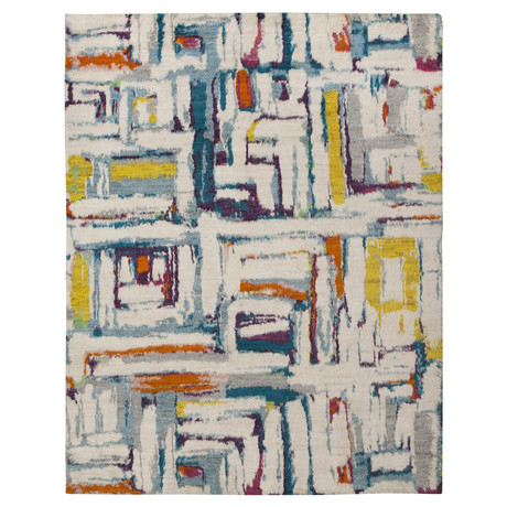 Marrakesh Collection // Artistic Wool Shag Berber Rug