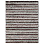 Marrakesh Collection // Linear Shag Wool Berber Rug