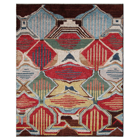 Marrakesh Collection // Vibrant Wool Shag Berber Rug II