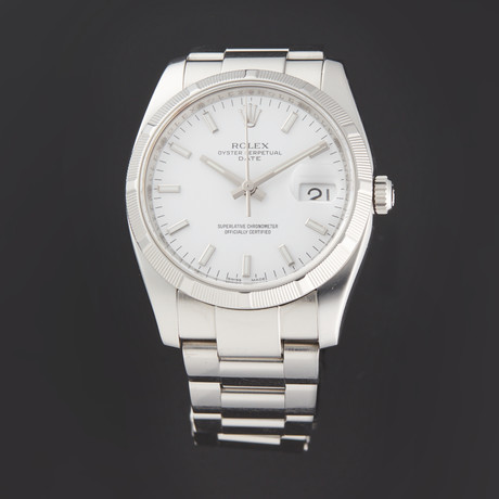 Rolex Date Automatic // 115210 // Z Serial // Pre-Owned
