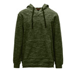 Churchill Hoodie // Heather Tactical Green (S)