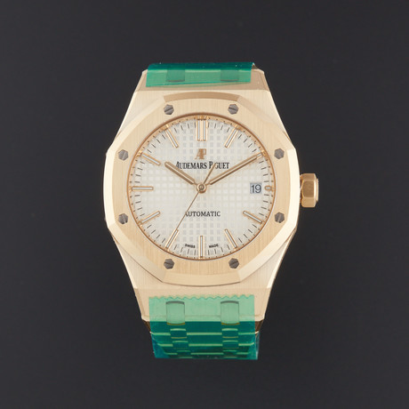 Audemars Piguet Royal Oak Automatic // 15450BA.OO.1256BA.01 // Store Display