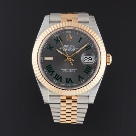 Rolex Datejust 41 Automatic // 126333 // Random Serial // Store Display