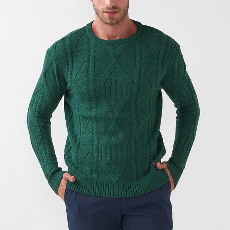 Trey Tricot Sweater // Khaki (S)