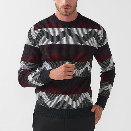 Len Tricot Sweater // Black (S)
