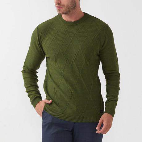 Enoch Tricot Sweater // Khaki (S)