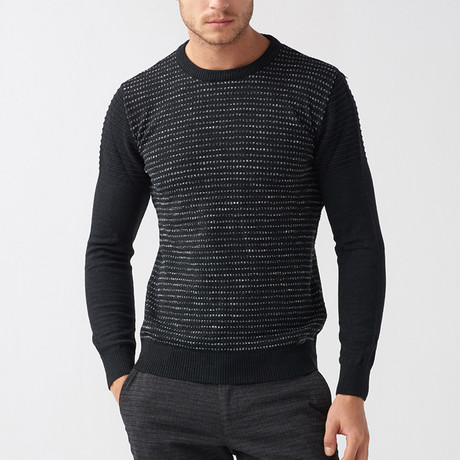 Bryon Tricot Sweater // Black (S)