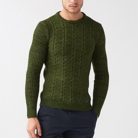 Jarod Tricot Sweater // Khaki (S)