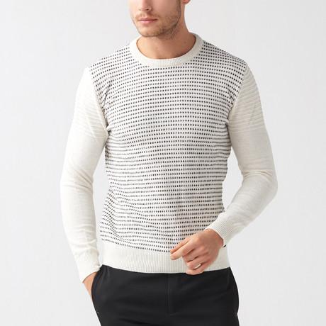 Bryon Tricot Sweater // Ecru (S)