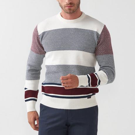 Zane Tricot Sweater // Ecru (S)