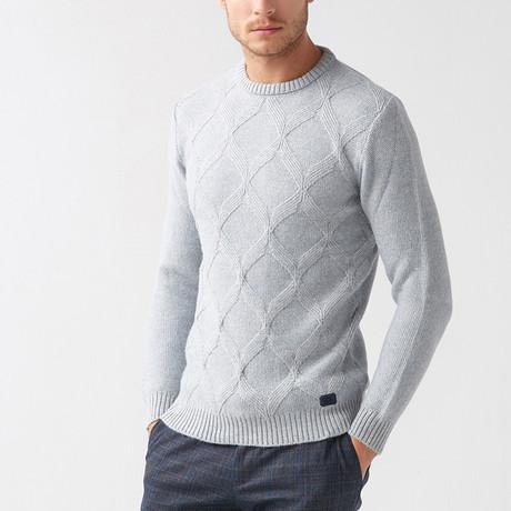Boraz Tricot Sweater // Blue (S)