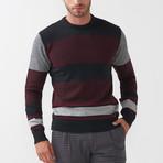 Zane Tricot Sweater // Black (L)