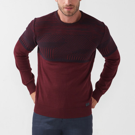 Sal Tricot Sweater // Claret Red (S)