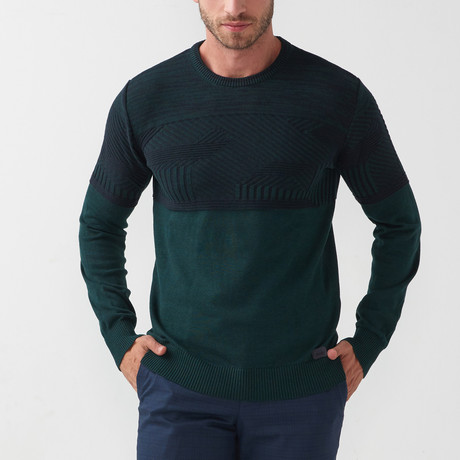Sal Tricot Sweater // Green (S)