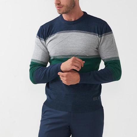 Dex Tricot Sweater // Dark Blue-Green (S)